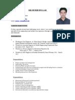 Resume of Md.Mudib Bullah (1) - Copy