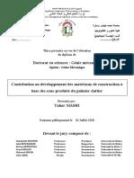Thesis_thèse_MASRI_Tahar_2018_Mecanique
