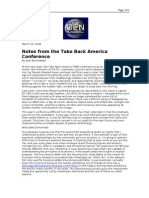 03-24-08 OEN-Notes From the Take Back America Conference by