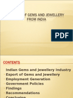 EXPORT OF GEMS AND JEWELLERY FROM INDIA (1)