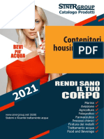 Contenitori housings filtro catalogo