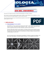 1º TEORIAS DEL ORIGEN DEL UNIVERSO