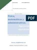 matemáticas y administrativas