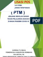 Sosialisasi Sop Ptm Sd Th.2021
