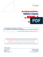 Rapport de l'ANCCLI sur le manque de préparation des Français en cas d'accident nucléaire