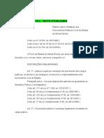 Legislação Mineira ESTATUTO DOS FUNCIONARIOS PUBLICOS MINEIRO