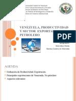 Venezuela, Productividad y Sector  exportador no petrolero
