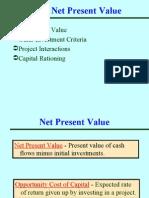 Ch 7- Net Present Value