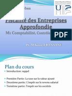 Fiscalité des Entreprises Apprefondie MU CCA TVA-IR