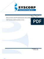 SYSCORP - Perfil Corporativo
