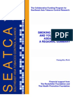 Regional Summary on Smoking Among Girls