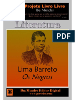 Os Negros - Lima Barreto - IBA MENDES-1