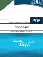 JUJ Geografi 2006