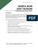 12- Gempa bumi dan Tsunami
