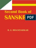 Second Book of Sanskrit - RG Bhandarkar