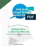 HOMILÉTICA A ARTE DE PREGAR -