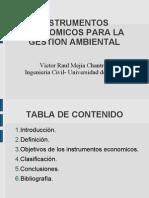 Instrumentos economicos para la gestion ambiental colombia
