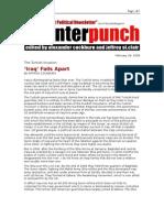 02-28-08 CP-'Iraq' Falls Apart By PATRICK COCKBURN