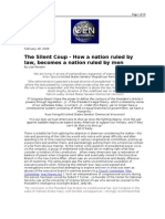 02-28-08 OEN-The Silent Coup - How a Nation Ruled by Law, Be