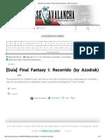 [Guía] Final Fantasy I_ Recorrido (by Azodrak) » Base Avalancha