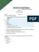 Diagnóstico Informática y Tecnología