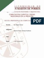 COMPUTACION CUÁNTICA Y REDES NEURONALES EN MEDICINA