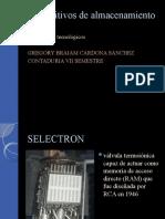 Dispositivos de Almacenamiento Digital POWER POINT