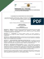Ordenanza No.039-2020 - Estatuto de Rentas