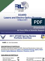 3. Gavrielides - EOARD Lasers