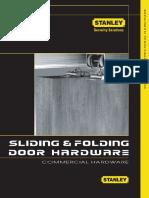 Sliding Folding Door Hardware SAH017
