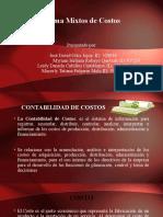 SISTEMAS MIXTOS DE COSTOS - EXPOSICIÓN