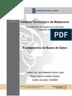 U4.T4. Transición de Diseño en La Normalización de La Base de Datos