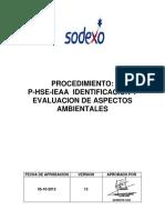 11 P-HSE-IEAA Procedimiento AAS