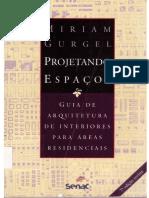 GURGEL Guia de Arquitetura de Interiores Para Áreas Residenciais