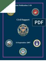 Civil Disturbance Operations DOD-Joint Publication 3-28