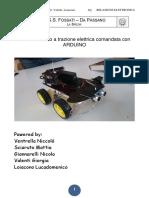 Relazione Auto a Trazione Elettrica Comandata Con ARDUINO
