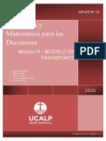 Modulo III - Grupo 15