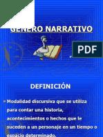 genero narrativo 8°