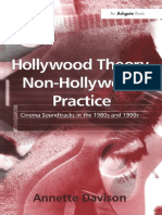 2 Hollywood Theory, Non-Hollywood Practice.Annette Davison