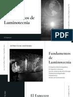ILUMINACION_ TEMA 2 Fundamentos de Luminotecnia