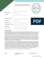 Covid-19-Impf-Sicherheitszertifikat