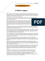 01-29-08 Consortiumnews-The Fight for Bush's Legacy by Rober