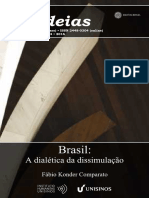 COMPARATO, Fábio Konder. a Dialética Da Dissimulação