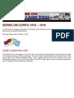 Serbs on Corfu and Vido 1916-1918