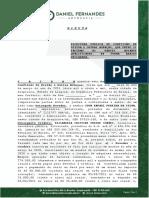 MINUTA - ESCRITURA DE CONFISSÃO DE DÍVIDA -  ELISANGELA CRISTINE FREIRE CHAVES X IGOR RAFAEL PERIRA DA SILVA - 24.04.2021