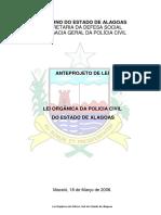 Lei Organica Da Policia Civil Do Estado de Alagoas