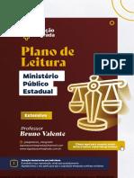 Plano Extensivo - Ministério Público Estadual