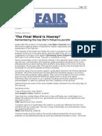 03-15-06 FAIR-'the Final Word is Hooray!'