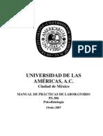 PRACTICAS PSICOBIOLOGIA HORACIO LARA