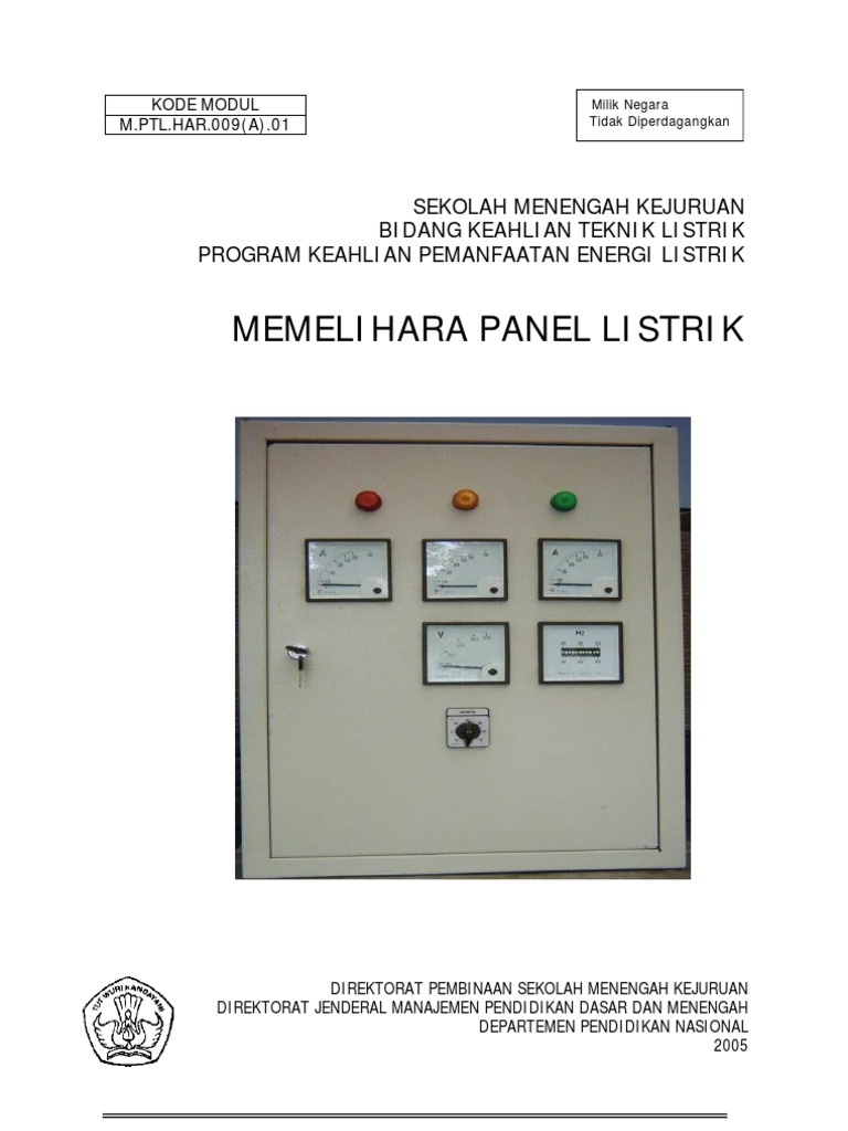 Memelihara panel listrik ccuart Choice Image